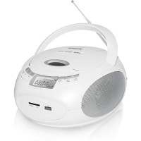 Магнитола BBK BX109U CD MP3 Белый-металик