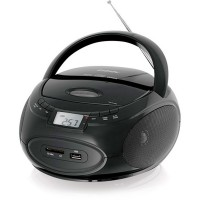 Магнитола BBK BX109U CD MP3 Черный-металик