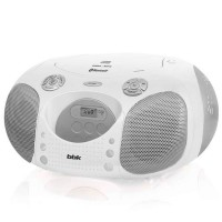 Магнитола BBK BX110BT CD MP3 Белый