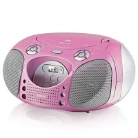 Магнитола BBK BX110U CD MP3 Розовый