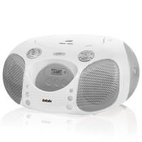 Магнитола BBK BX110U CD MP3 Белый