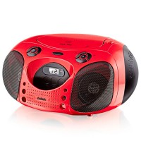 Магнитола BBK BX110U CD MP3 Красный