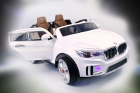Электромобиль RiverToys BMW M333MM Белый