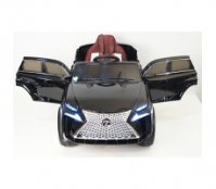 Электромобиль RiverToys Lexus E111KX Черный
