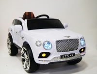 Электромобиль RiverToys Bentley E777KX Белый