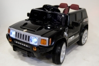 Электромобиль RiverToys Hummer E003EE Черный