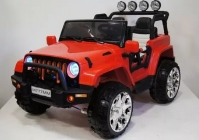 Электромобиль RiverToys Jeep M777MM Красный