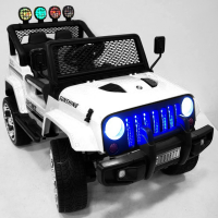 Электромобиль RiverToys Jeep T008TT Белый