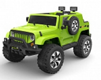 Электромобиль RiverToys Jeep Wrangler O999OO 4х4 Зеленый