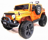Электромобиль RiverToys Jeep Wrangler O999OO 4х4 Оранжевый