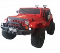 Электромобиль RiverToys Jeep Wrangler O999OO 4х4 Красный
