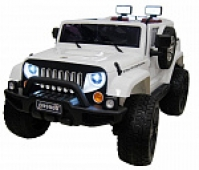 Электромобиль RiverToys Jeep Wrangler O999OO 4х4 Белый