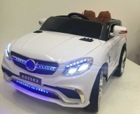 Электромобиль RiverToys Mercedes E009KX Белый