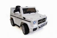 Электромобиль RiverToys Mercedes-Benz G-65 Белый