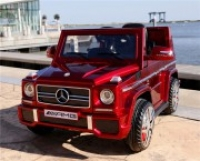 Электромобиль RiverToys Mercedes-Benz G-65 Красный