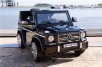 Электромобиль RiverToys Mercedes-Benz G-65 Черный глянец