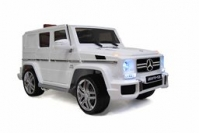 Электромобиль RiverToys Mercedes-Benz G63 AMG Белый
