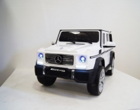 Электромобиль RiverToys Mercedes-Benz G65 AMG Белый