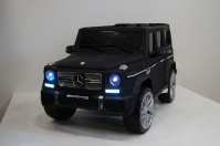 Электромобиль RiverToys Mercedes-Benz G65 AMG Черный матовый
