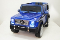 Электромобиль RiverToys Mercedes-Benz G65 AMG Синий