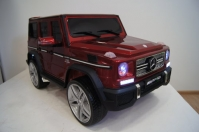 Электромобиль RiverToys Mercedes-Benz G65 AMG Вишневый