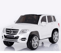 Электромобиль RiverToys Mercedes-Benz GLK300 Белый