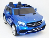 Электромобиль RiverToys Mercedes-Benz GLS63 4WD Синий
