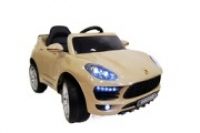 Электромобиль RiverToys Porsche Macan O005OO Бежевый