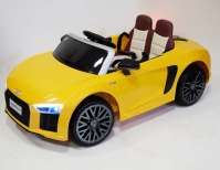 Электромобиль RiverToys AUDI R8 Желтый