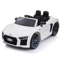 Электромобиль RiverToys AUDI R8 Белый