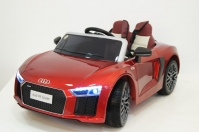 Электромобиль RiverToys AUDI R8 Красный