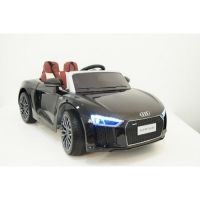 Электромобиль RiverToys AUDI R8 Черный