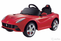 Электромобиль RiverToys Ferarri O222OO Красный
