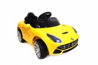 Электромобиль RiverToys Ferarri O222OO Желтый