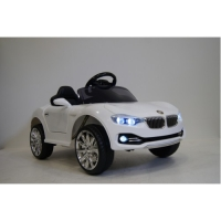 Электромобиль RiverToys BMW O111OO Белый