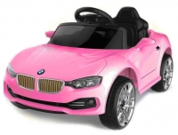 Электромобиль RiverToys BMW O111OO Розовый