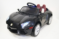Электромобиль RiverToys Lambo E002EE Черный