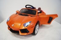 Электромобиль RiverToys Lambo E002EE Оранжевый