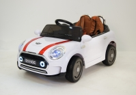 Электромобиль RiverToys Mini Cooper C111CC Белый