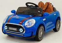 Электромобиль RiverToys Mini Cooper C111CC Синый