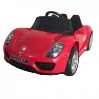 Электромобиль RiverToys Porsche O003OO Красный