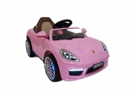 Электромобиль RiverToys Porsche A444AA VIP Розовый