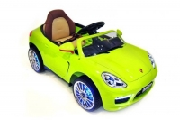 Электромобиль RiverToys Porsche A444AA VIP Зеленый