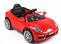 Электромобиль RiverToys Porsche A444AA VIP Красный