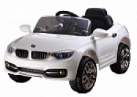 Электромобиль RiverToys BMW P333BP Белый