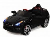 Электромобиль RiverToy Nissan GTR X333XX Черный