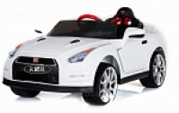 Электромобиль RiverToy Nissan GTR X333XX Белый