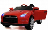 Электромобиль RiverToy Nissan GTR X333XX Красный