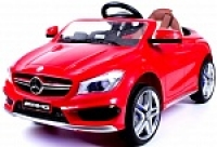 Электромобиль RiverToys Mercedes-Benz CLA45 A777AA Красный
