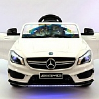 Электромобиль RiverToys Mercedes-Benz CLA45 A777AA Белый